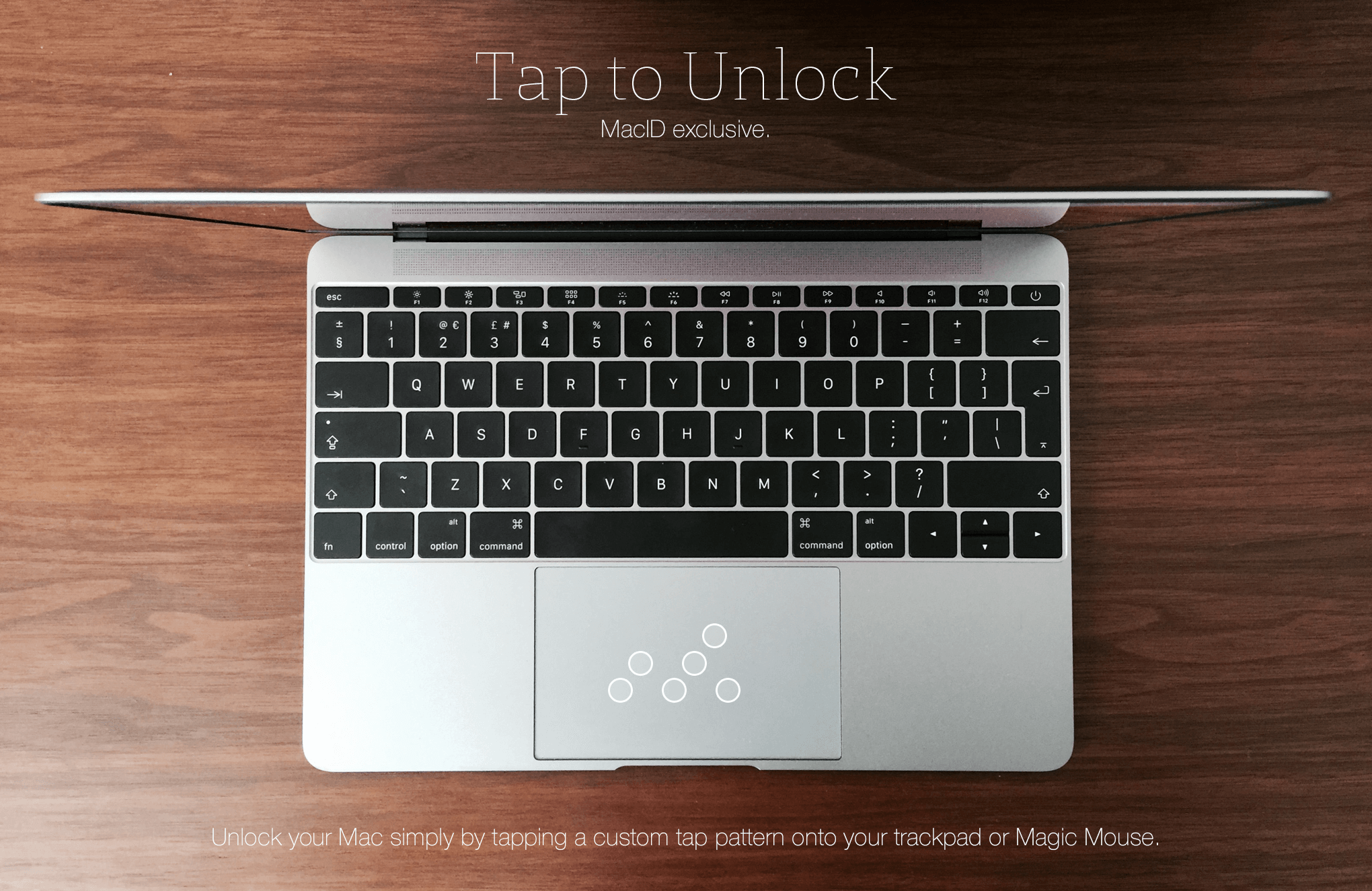 MacID - Unlock your Mac with just your fingerprint