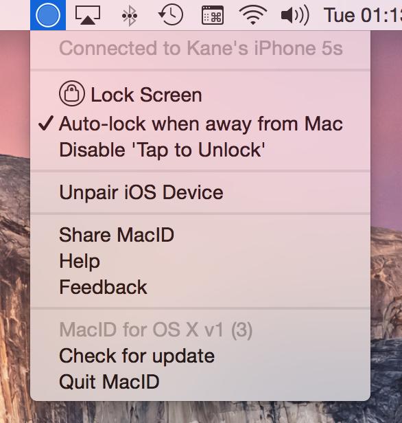 Help - MacID - Unlock your Mac with just your fingerprint