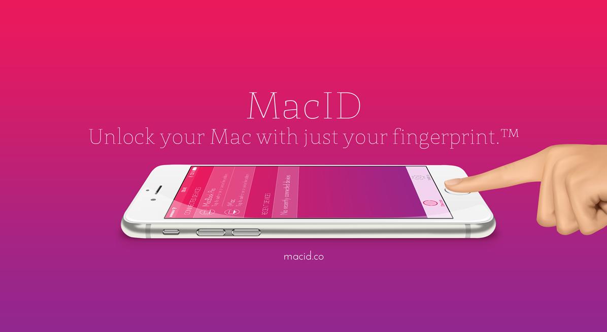 MacID - Unlock your Mac with just your fingerprint